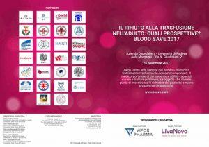 BSave 2017: In partenza un congresso sul rifiuto alle trasfusioni, tra giurisprudenza e clinica @ Università di Padova | Padova | Veneto | Italia